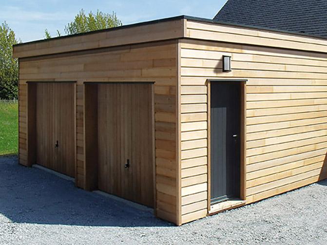 garages environnement bois. Black Bedroom Furniture Sets. Home Design Ideas